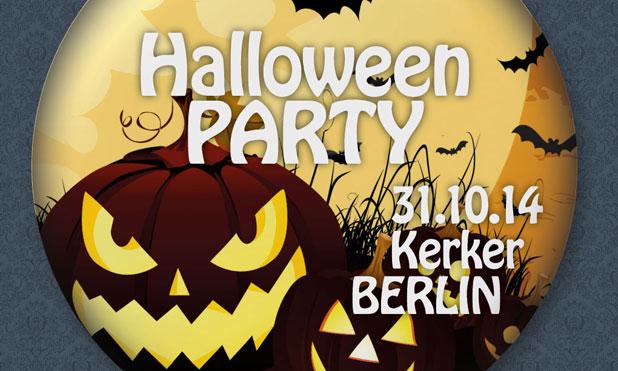 Button mit Halloween Motiv
