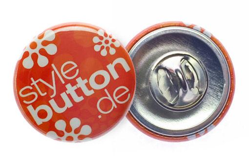 Button 25 mm mit Butterfly-Verschluss