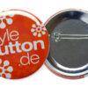 Buttons 56 mm mit Sicherheitsnadel