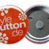 Button 56 mm Supermagnet abnehmbar ohne Nadel