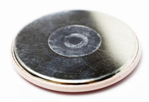 Rückseite 56 mm Kühlschrankmagnet