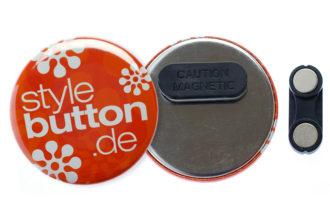 56 mm Kleidungsmagnet Button
