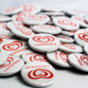 Langnese Buttons Buttons 25 mm mit Kleidungsmagnet / Textilmagnet