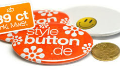 ovale Buttons 46 x 70 mm