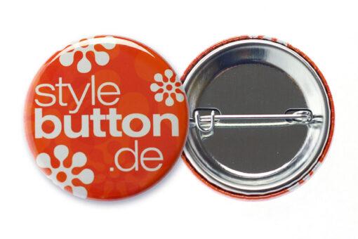37 mm Button mit Sicherheitsnadel