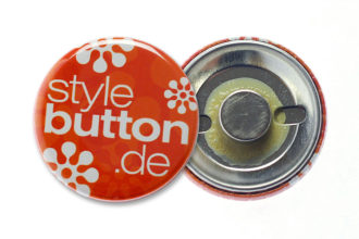 Buttons 32 mm mit Supermagnet