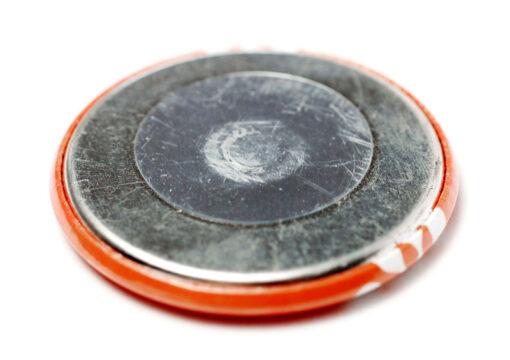 Kühlschrankmagnet 32 mm Rückseite