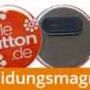 56 mm button kleidungsmagnet 270x2706 JGA-Button Modell #8