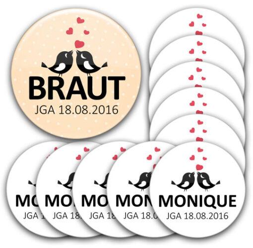 jga buttonset individuell 4 76 10 56 540 JGA-Button Modell #4