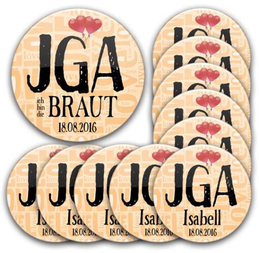 JGA-Buttons Modell #3