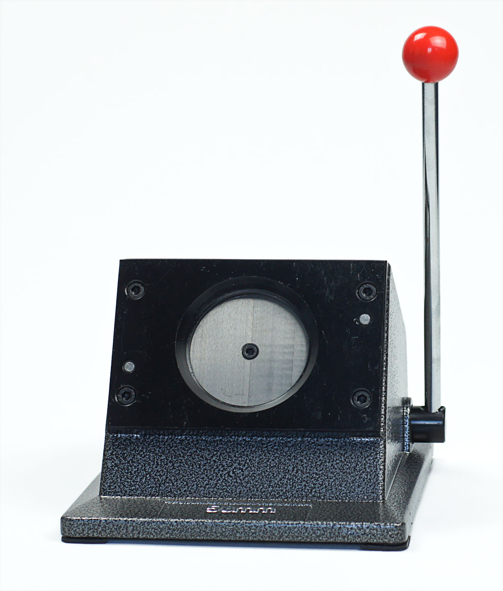 Button-Papierstanze für Papiereinleger