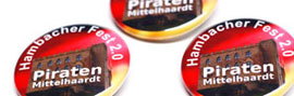 Buttons Piratenpartei