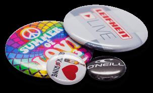 Buttons Druckqualität Standard 4/0