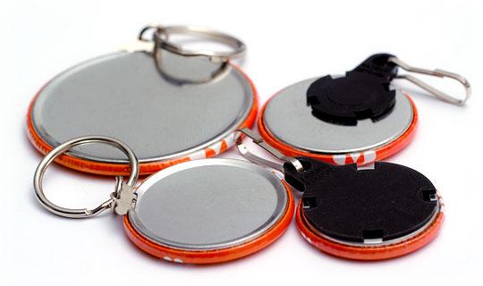 Schlüsselanhänger in verschiedenen Größen