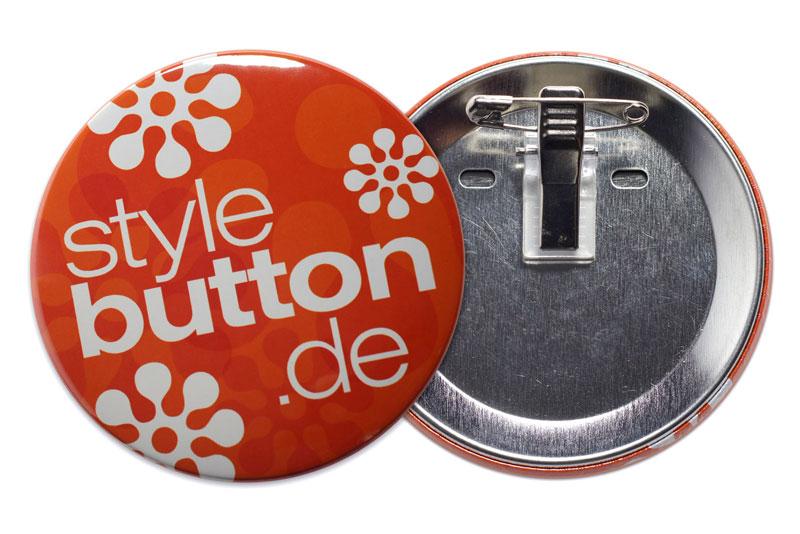 76 mm Kombiclip-Button bedrucken