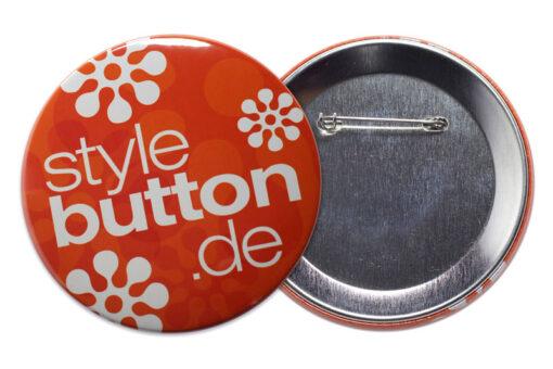 76 mm Button mit Sicherheitsnadel