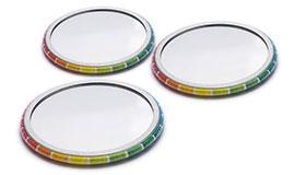 Spiegel Buttons individuell bedrucken lassen
