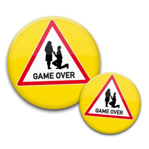 Game Over Buttons JGA Dreieck gelb