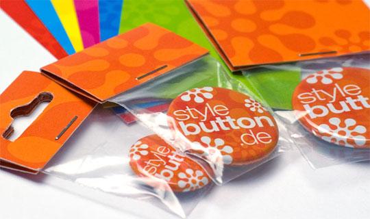 Konfektionierung und Verpacken von Buttons