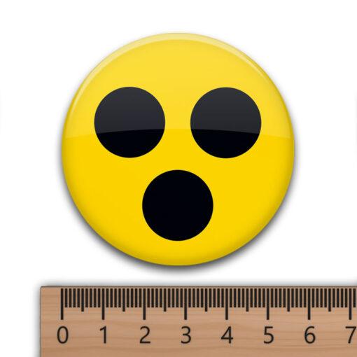 Blindenanstecker 3 Punkte mit 56 mm Durchmesser