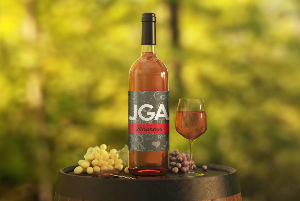 flasche jga aufkleber 7 Anleitung: JGA Flaschenetiketten für den Junggesellinnenabschied basteln (gratis Vorlagen Download)