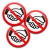 Händeschütteln verboten - Infektionsgefahr verringern
