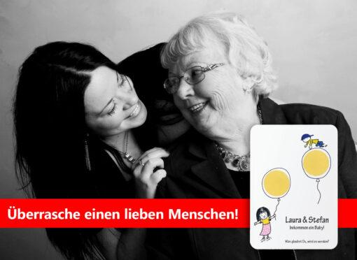 Spannung und Spaß garantiert: Rubbelkarten mit Ratespiel zum Geschlecht des Babies