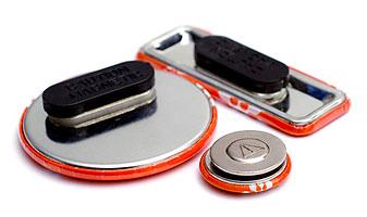 Kleidungsmagnete: Buttons mit Magnetverschluss in diversen Größen