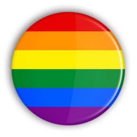 regenobogen button streifen flagge